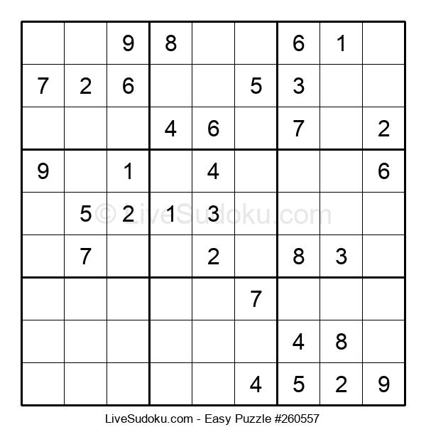 Beginners Puzzle #260557