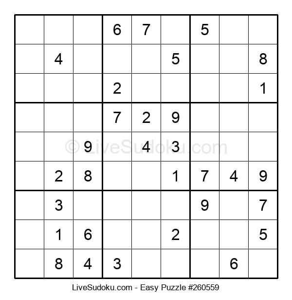Beginners Puzzle #260559