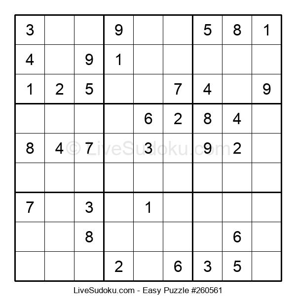 Beginners Puzzle #260561