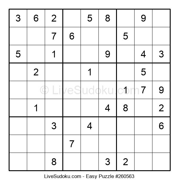 Beginners Puzzle #260563