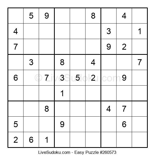 Beginners Puzzle #260573