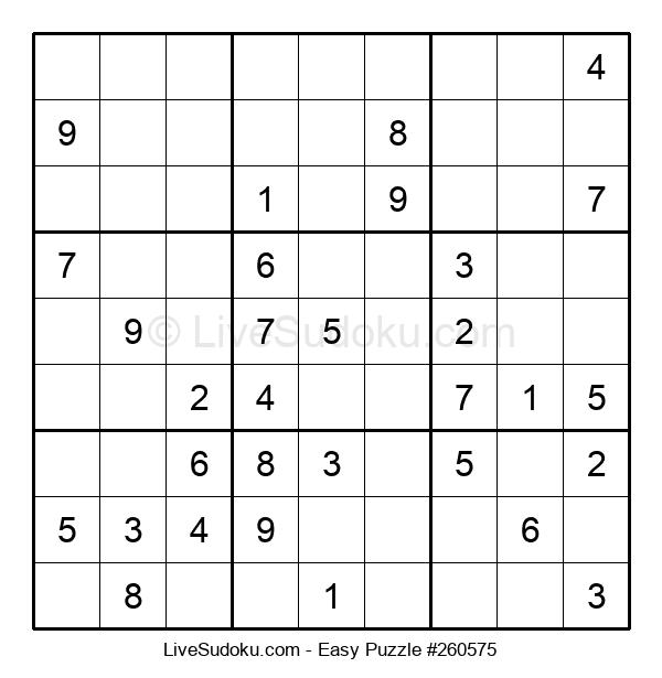 Beginners Puzzle #260575