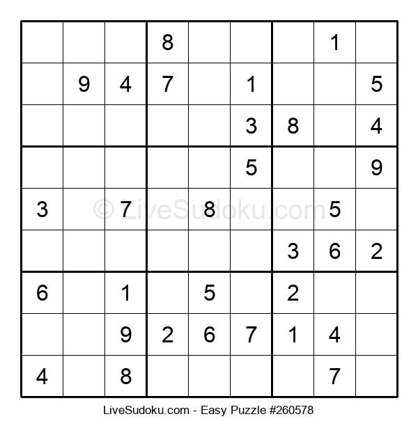 Beginners Puzzle #260578