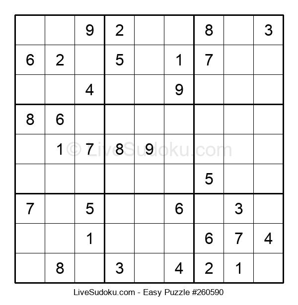 Beginners Puzzle #260590
