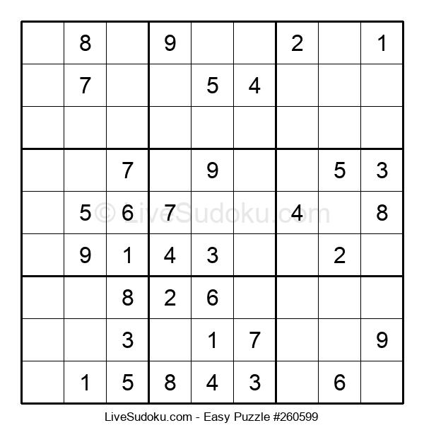 Beginners Puzzle #260599