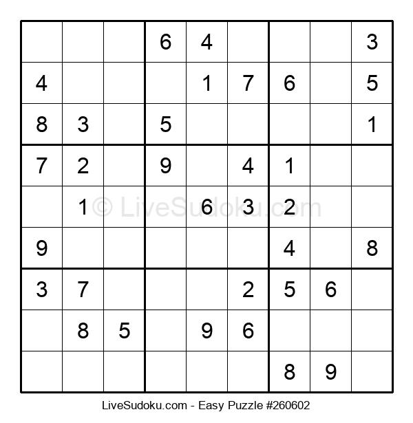Beginners Puzzle #260602
