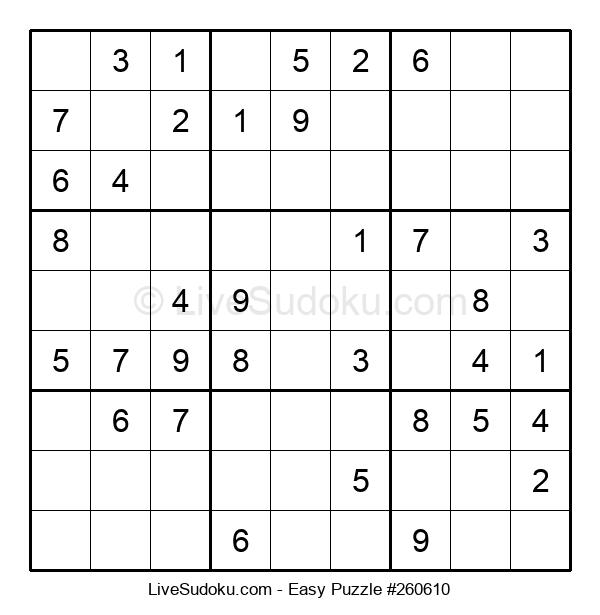 Beginners Puzzle #260610