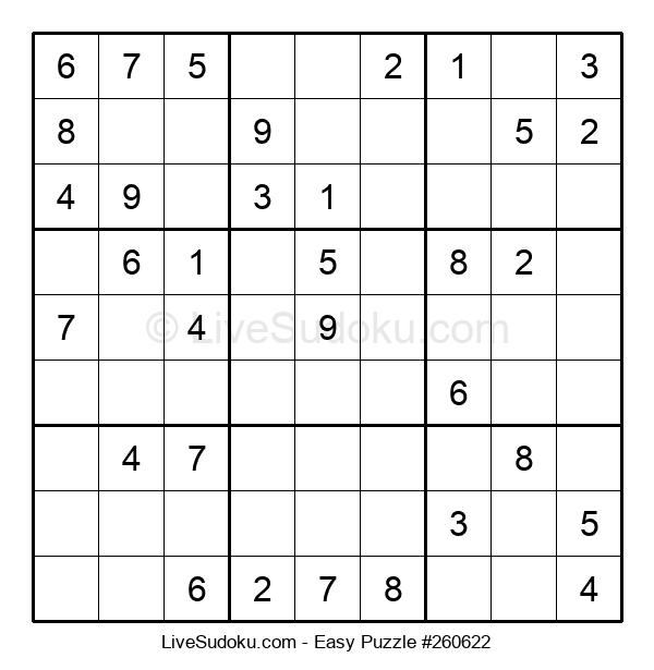 Beginners Puzzle #260622