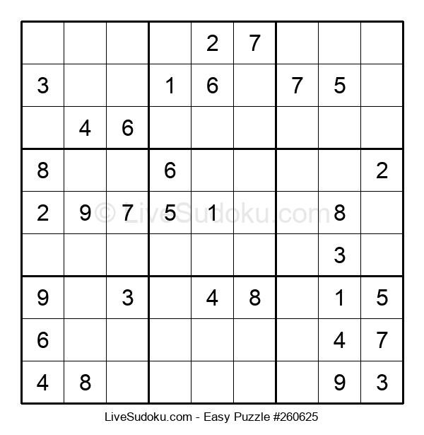 Beginners Puzzle #260625