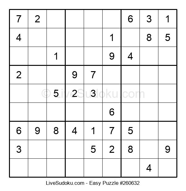 Beginners Puzzle #260632