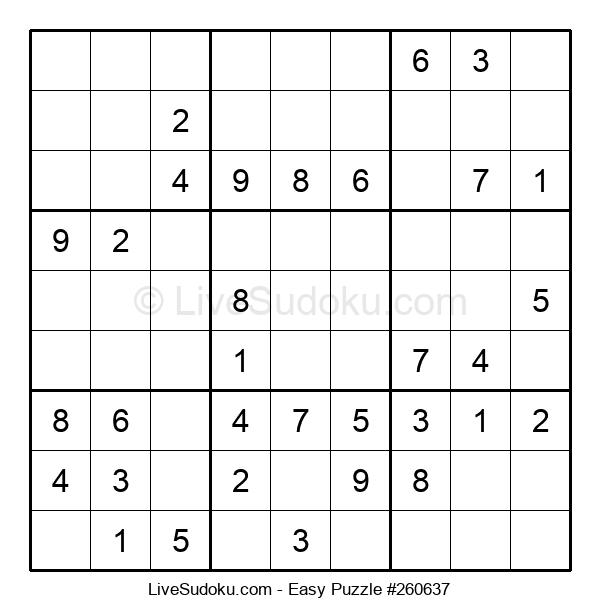 Beginners Puzzle #260637