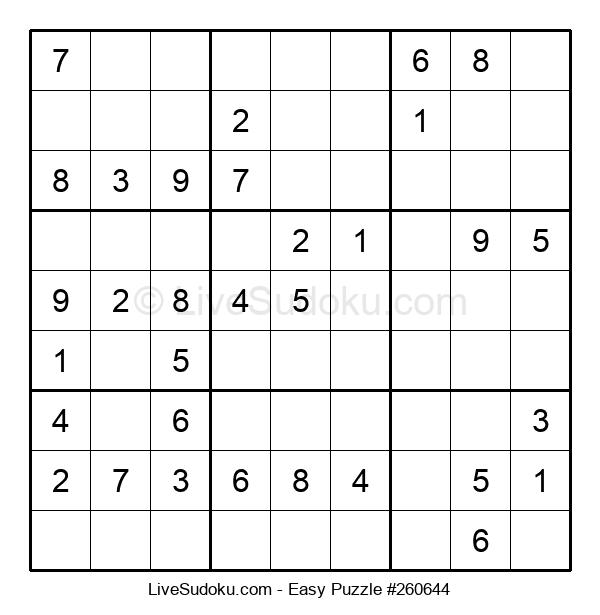 Beginners Puzzle #260644