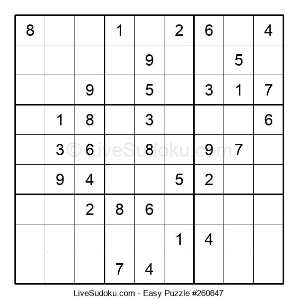 Beginners Puzzle #260647