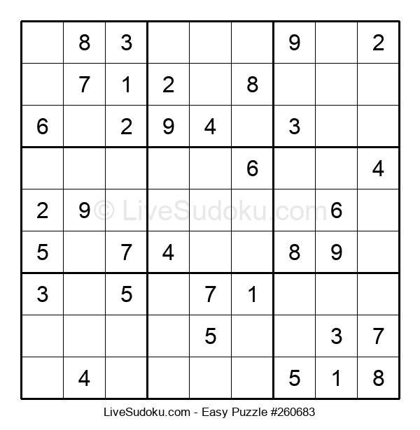 Beginners Puzzle #260683