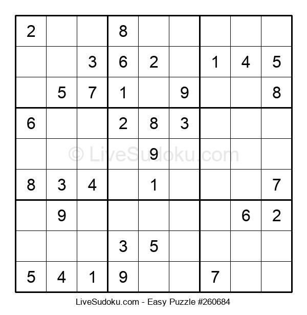 Beginners Puzzle #260684