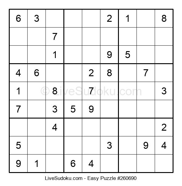 Beginners Puzzle #260690