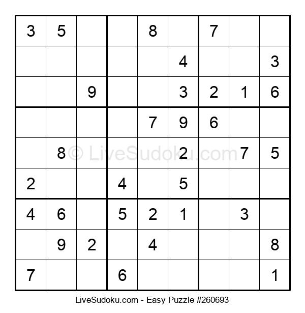 Beginners Puzzle #260693