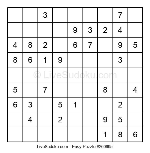Beginners Puzzle #260695