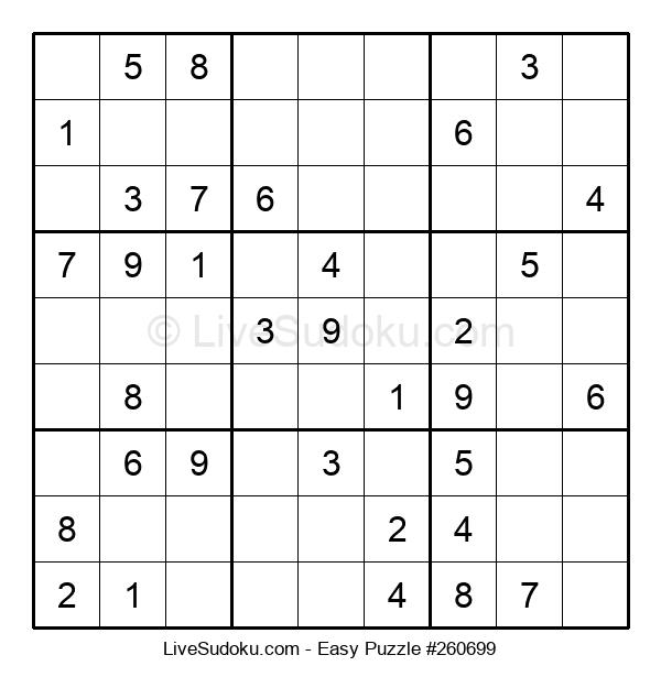 Beginners Puzzle #260699