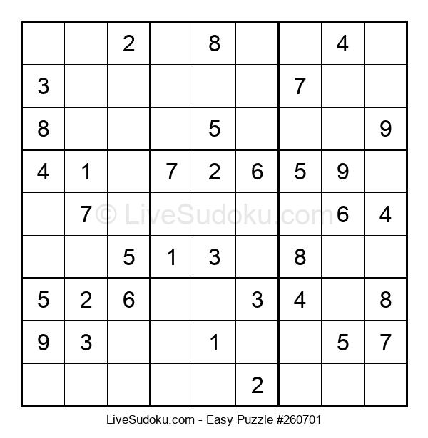 Beginners Puzzle #260701