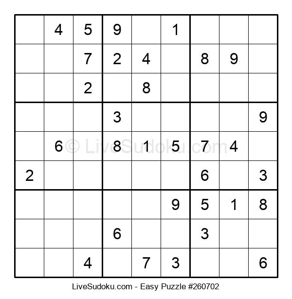 Beginners Puzzle #260702