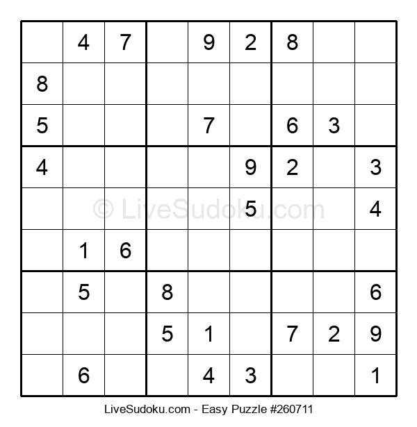 Beginners Puzzle #260711