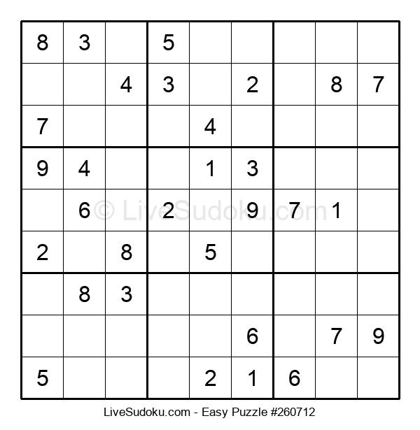 Beginners Puzzle #260712