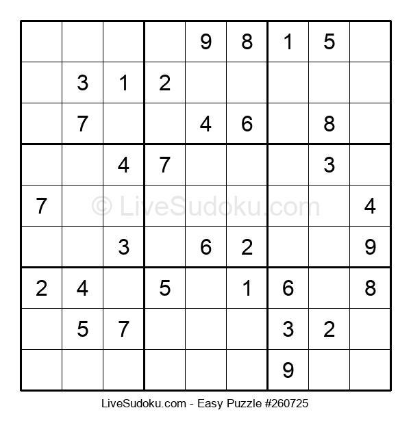 Beginners Puzzle #260725
