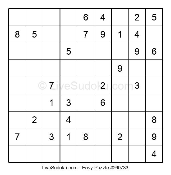 Beginners Puzzle #260733