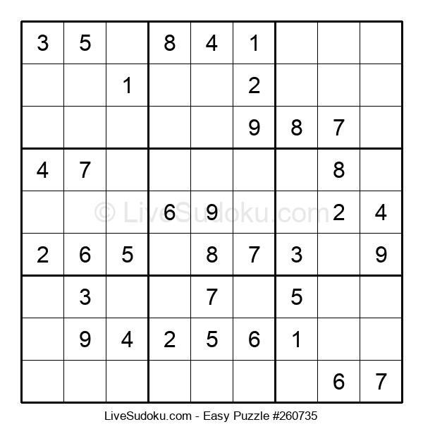 Beginners Puzzle #260735