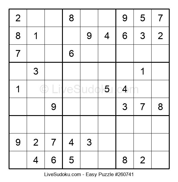 Beginners Puzzle #260741