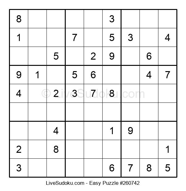 Beginners Puzzle #260742