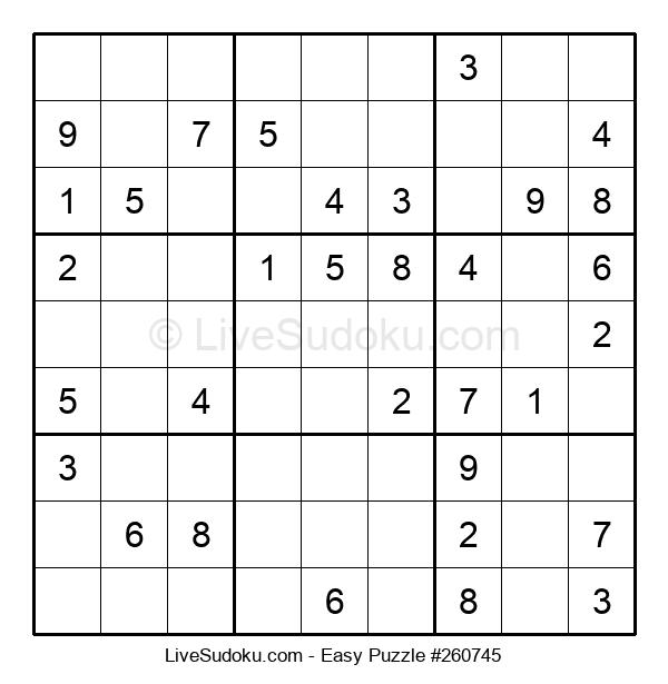 Beginners Puzzle #260745