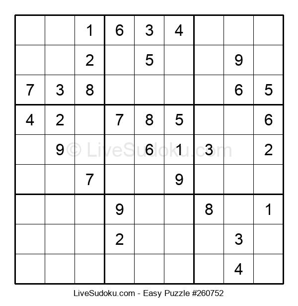 Beginners Puzzle #260752