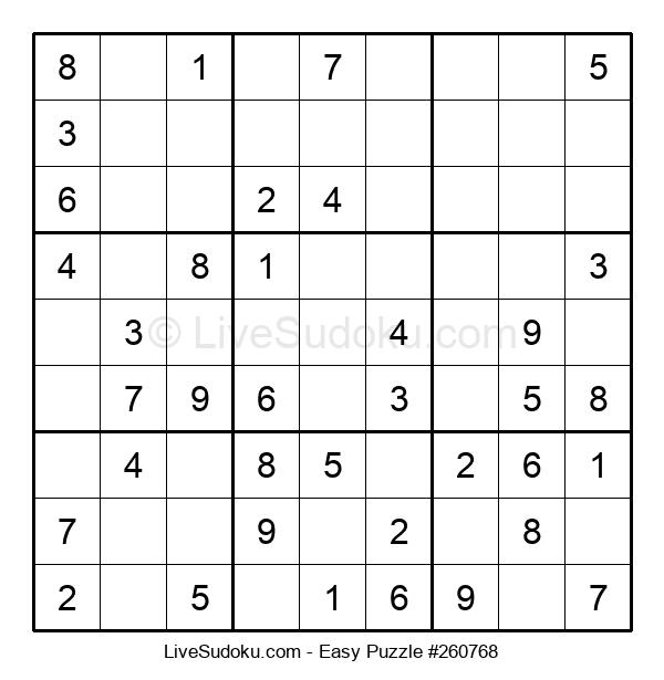 Beginners Puzzle #260768