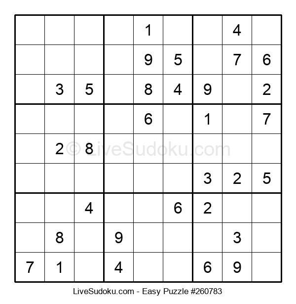 Beginners Puzzle #260783