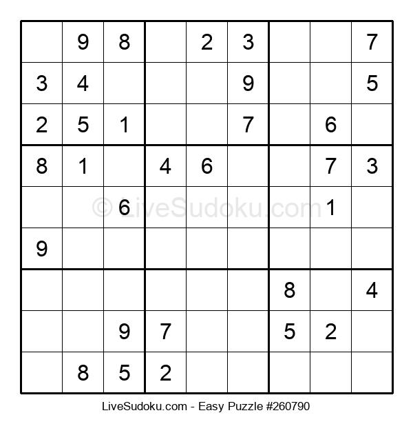 Beginners Puzzle #260790
