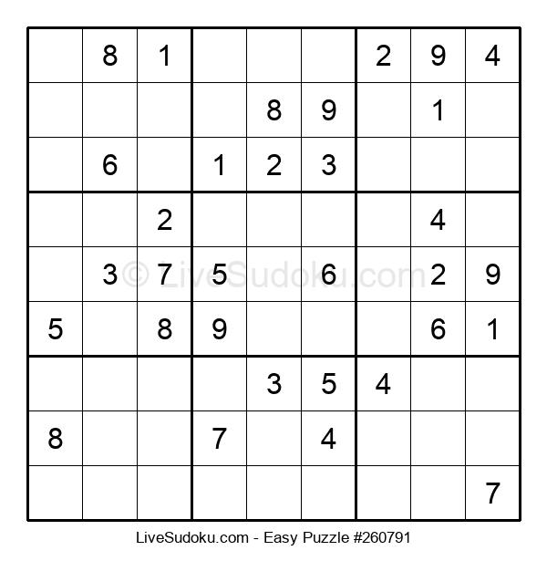 Beginners Puzzle #260791
