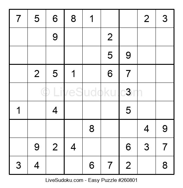 Beginners Puzzle #260801