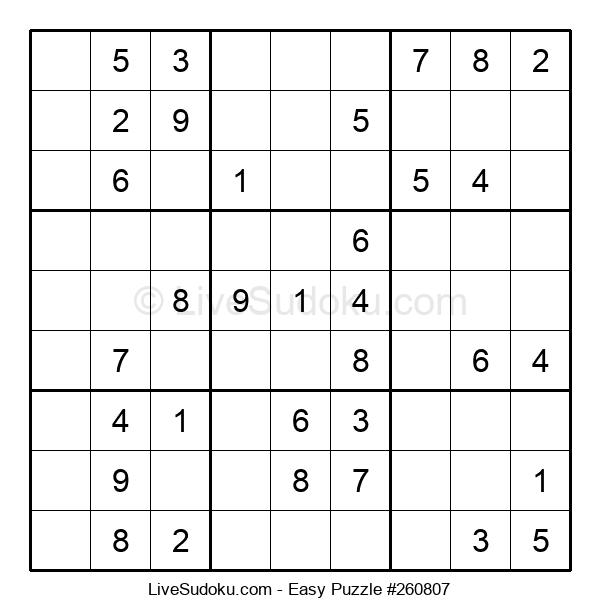 Beginners Puzzle #260807