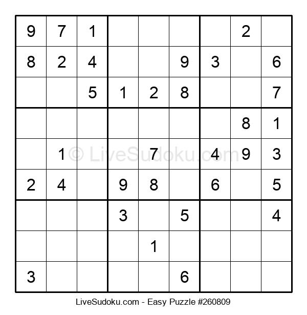 Beginners Puzzle #260809