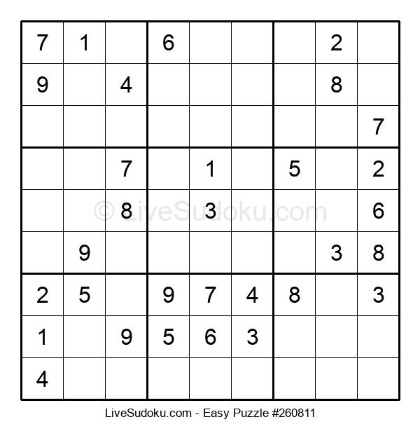 Beginners Puzzle #260811
