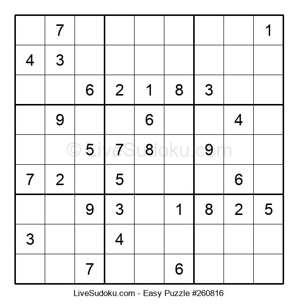 Beginners Puzzle #260816