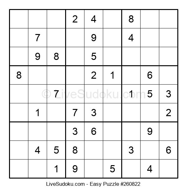 Beginners Puzzle #260822