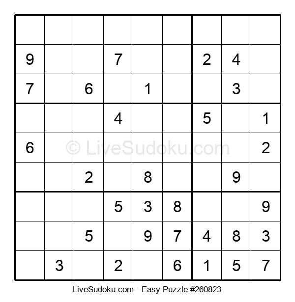 Beginners Puzzle #260823
