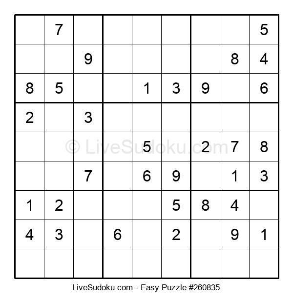 Beginners Puzzle #260835
