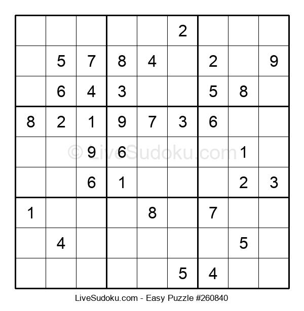 Beginners Puzzle #260840