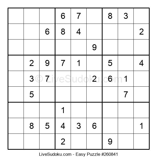 Beginners Puzzle #260841