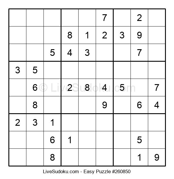 Beginners Puzzle #260850