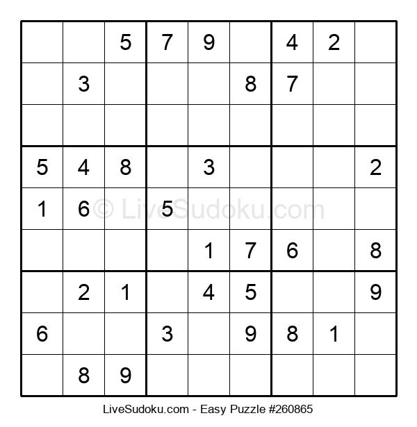 Beginners Puzzle #260865